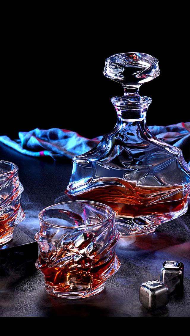 高檔玻璃酒瓶