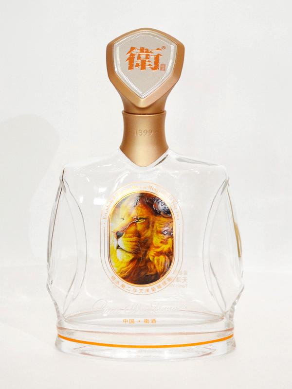 卫酒玻璃酒瓶